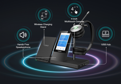 Redefine Your Workspace: Yealink Announces New WH6 Series DECT Wireless Headsets X UC Workstation