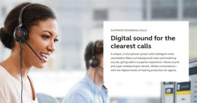 Jabra Launch Engage 50, Professional Digital Contact Centre Headset